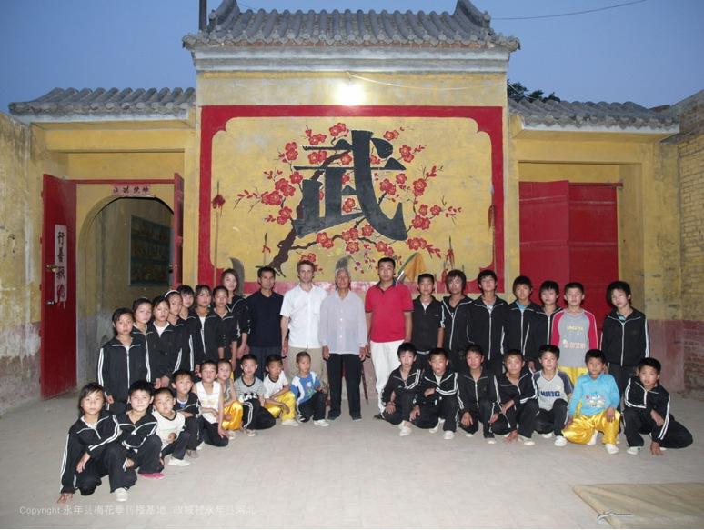 A3 | 2007年在冀南大地对梅花拳的爱好正处于热潮之中。故城村文武场所。