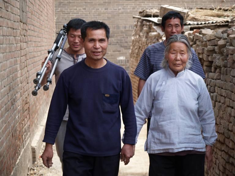 OLYMPUS DIGITAL CAMERA | 后马庄梅花拳圣地负责人多次来传播基地访问学员们的练功情况