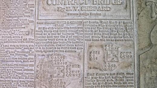 2015-01-18_0RA9270_v1_LTM-PC | Papier-mâché newspaper mats (flong) 1937