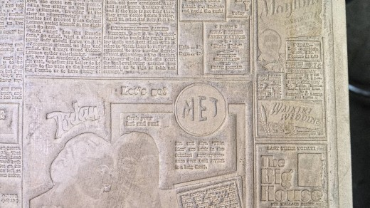 2015-01-18_0RA9271_v1_LTM-PC | Papier-mâché newspaper mats (flong) 1937