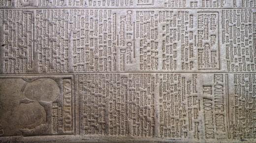 2015-01-18_0RA9272_v1_LTM-PC | Papier-mâché newspaper mats (flong) 1937