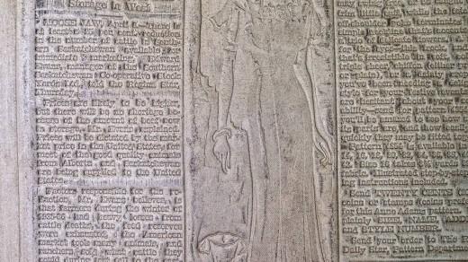 2015-01-18_0RA9278_v1_LTM-PC | Papier-mâché newspaper mats (flong) 1937