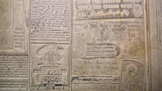 2015-01-18_0RA9283_v1_LTM | Papier-mâché newspaper mats (flong) 1937