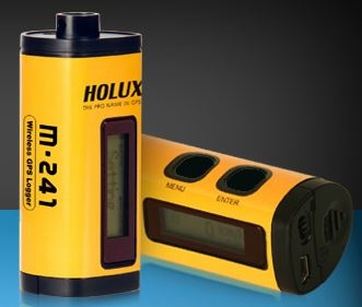 Holux Technology M-241 bluetooth logger. Adding geotags to photos, GPS