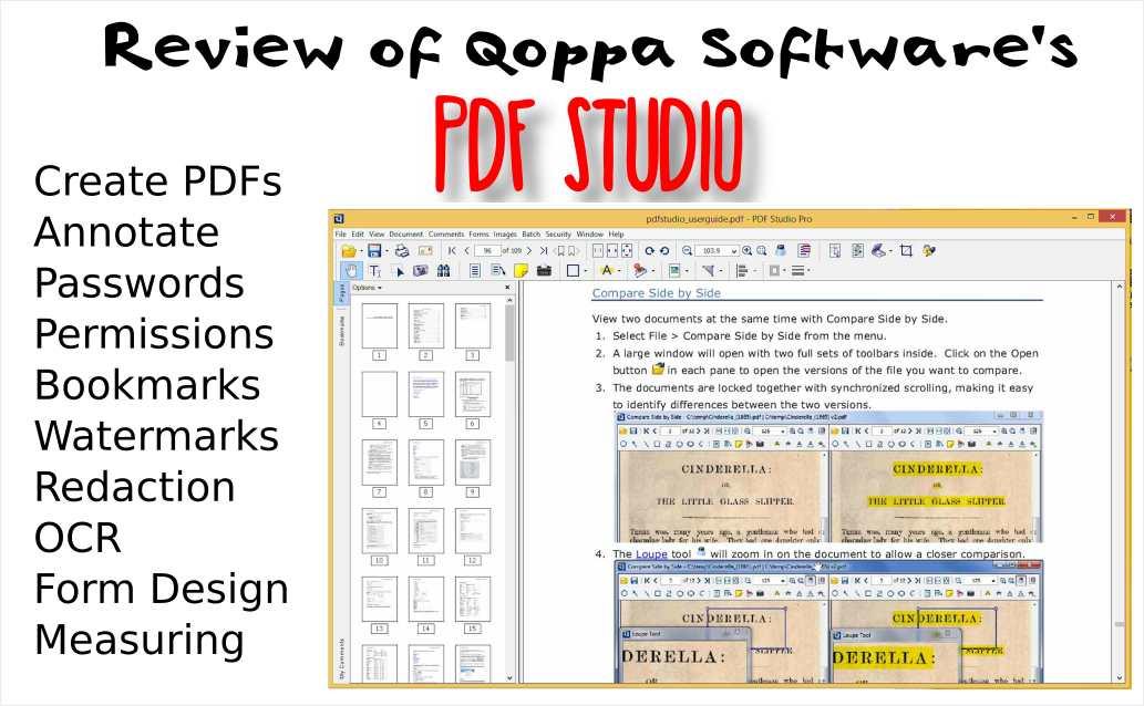 Qoppa Software PDF Studio PDF editor