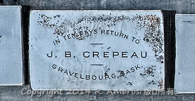 2015-05-14_0RA9681_v1 019 JB Crepeau- Gravelbourg SK | In Ten Days Return to J.B. Crepeau. Gravelbourg, Sask