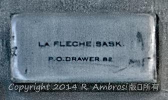 2015-05-14_0RA9706_v1 TRAY 2 010 LaFlesche SK | La Fleche, Sask P.O. Drawer 82