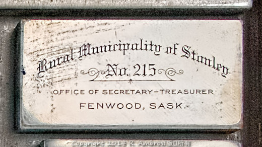 2015-05-14_0RA9706_v1 TRAY 2 015 RM of Stanley No 215- Fenwood SK | Rural Municipality of Stanley. No. 215 Office of Secretary-Treasurer Fenwood, Sask.