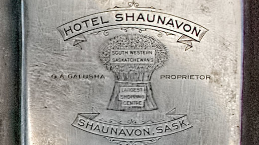 2015-05-14_0RA9706_v1 TRAY 2 020 Hotel Shaunavon- Galusha Proprietor- SK | Hotel Shaunavon G.A. Galusha Proprietor  South Western Saskatchewan's Largest Shopping Center. Shaunavon, Sask