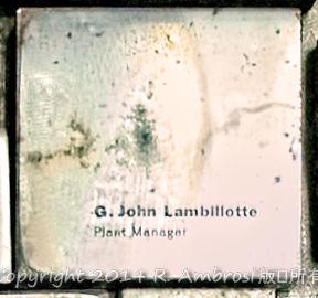 2015-05-14_0RA9721_v1 TRAY 3 014 G John Lambillotte Plant Manager- SK | G. John Lambillotte Plant Manager