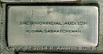 2015-05-14_0RA9721_v1 TRAY 3 037 Provincial Auditor- Regina SK | The Provincial Auditor Regina, Saskatchewan