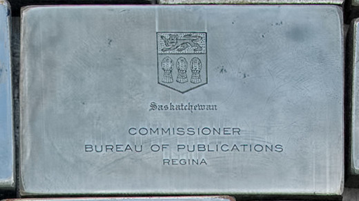 2015-05-14_0RA9744_v1 TRAY 4 007 Commissioner Bureau of Publications1200 | Saskatchewan. Commissioner Bureau of Publications. Regina