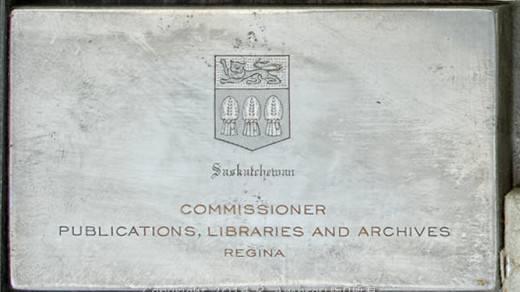 2015-05-14_0RA9744_v1 TRAY 4 015 Commissioner Publications Libraries Archives1200 | Saskatchewan Commissioner Publications, Libraries and Archives. Regina