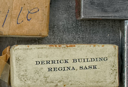 2015-05-14_0RA9744_v1 TRAY 4 017 Derrick Bldg- Regina SK1200 | Derrick Building. Regina, Sask  Note: Wrapped decades ago and likely in pristine condition. Very rare.