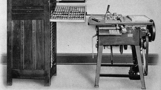 """Ludlow- sherman-genesis-of-machine-typesetting-1950-1200grey-034-middle-individual-matrix-ludlow 1200pxOPTI 