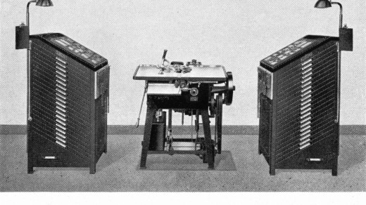 "Ludlow- sherman-genesis-of-machine-typesetting-1950-1200grey-035-present-individual-matrix-ludlow 1200pxOPTI | from ""The Genesis of Machine Typesetting"" F.M. Sherman 1950. Thanks to Circuitous Route for posting these public domain literature http://www.circuitousroot.com"