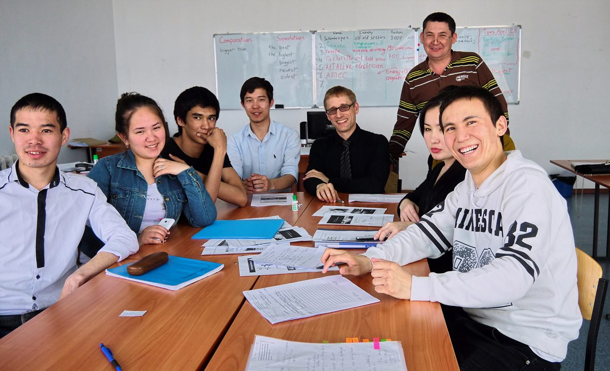 Teaching in Kazakhstan
